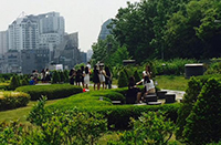 on ewha campus